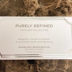 Purely refined diffuser oils by moonlight beach co